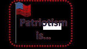PatriotismIsCover